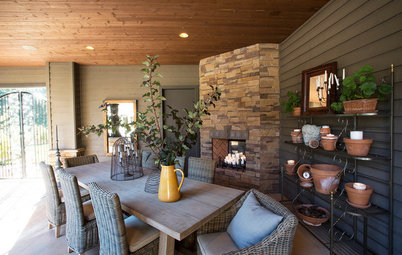 outdoor kitchens 3season rooms from unused space to fab outdoor kitchen