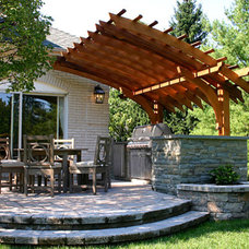 Traditional Patio by Trellis Structures, Inc
