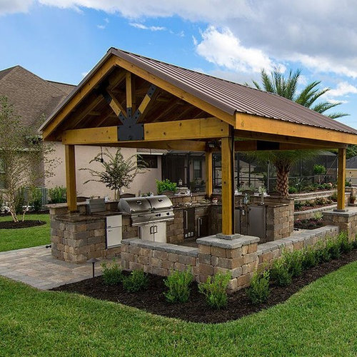 Top 100 Traditional Outdoor Kitchen Design Ideas