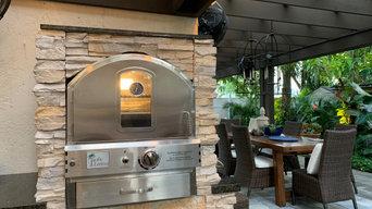Outdoor Kitchen Pizza Oven