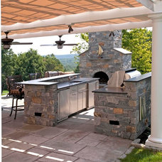 Transitional Patio by Artistic Cabinetry