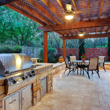 Outdoor Kitchen - Texas