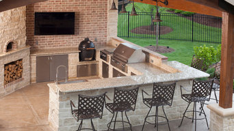 Outdoor Kitchen, Wichita, KS.