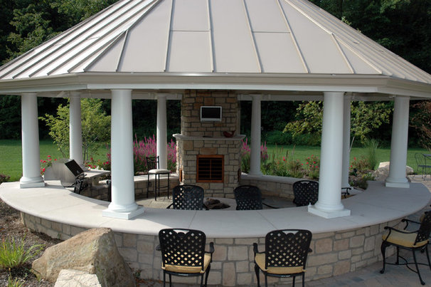 Traditional Patio by Peabody Landscape Group