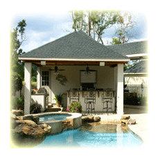 Patio by Backyard Retreats