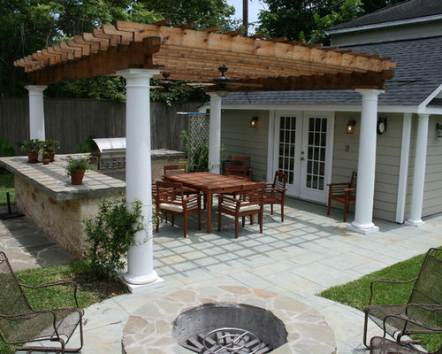 Grill Station And Pergola Home Design Ideas Pictures