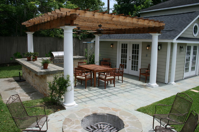 Traditional Patio by Champions Remodeling