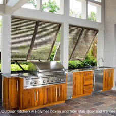 Tropical Patio by Carolina Kitchens of Charleston, Inc.