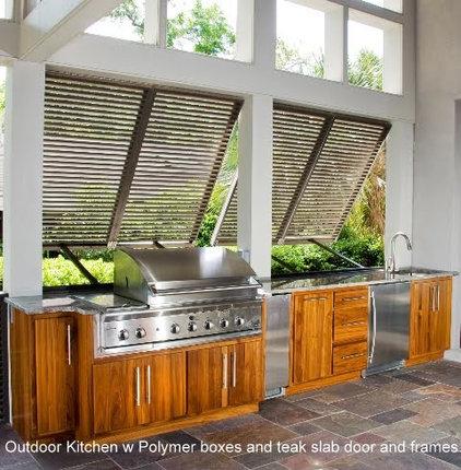 Tropical Patio by Carolina Kitchens of Charleston, Inc.