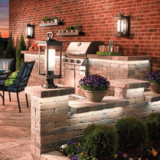 Traditional Patio by Starlight Lighting