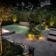 Contemporary Patio by Spectral LV Lighting Systems