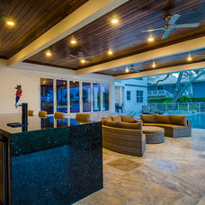 Contemporary Patio by Lindross Remodeling