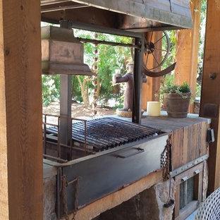 Inspiration for a patio remodel in Atlanta