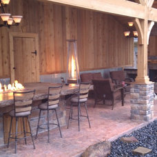 Traditional Patio by 1st choice roofing & construction