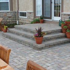 Traditional Patio by Wilson Landscape Associates