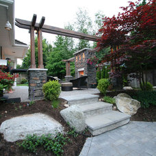Contemporary Patio by My House Design Build Team