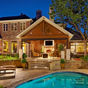 Outdoor Living Area with Pool