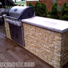Traditional Patio by FauxPanels®