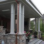 Custom Patio Design Retaining Wall And Landscape Design