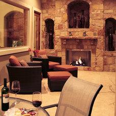 Mediterranean Patio by Asomoza Homes - Design Build