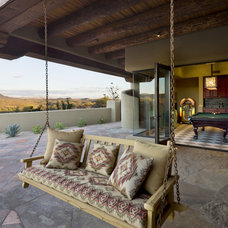 Southwestern Patio by Bess Jones Interiors
