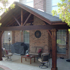 Traditional Patio by Capstone Classic Homes