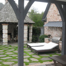 Traditional Patio by Davis-Hawn Lumber & Architectural Millworks