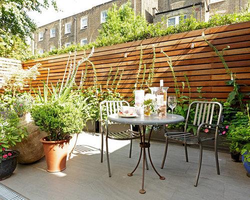 Ideas para patios dise os de patios cl sicos renovados - Patios con macetas ...