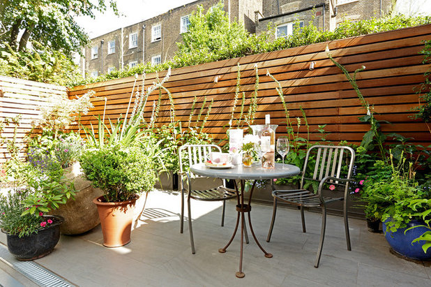 Transitional Patio by Cue & Co of London