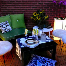 Eclectic Patio by AMMOR Architecture LLP
