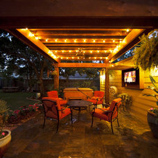 Eclectic Patio by JMC Designs llc