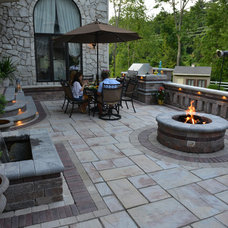 Traditional Patio by Benson Stone Company