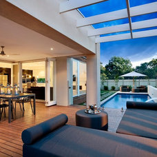 Contemporary Patio by Landscape And Architectural Design Products PL