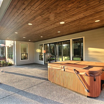 Outdoor Living (Lower Story) The Cadence : 2018 Parade of Homes