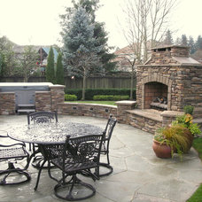 Traditional Patio by McCarthy Custom Homes LLC.