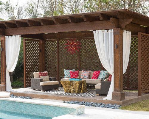Pool cabana ideas photos for Outdoor cabana decorating ideas