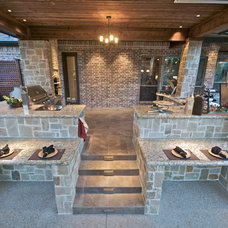 Contemporary Patio by Passion Lighting
