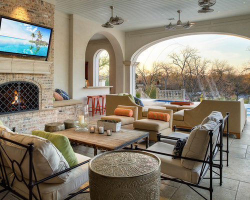 Outdoor Living Room Houzz