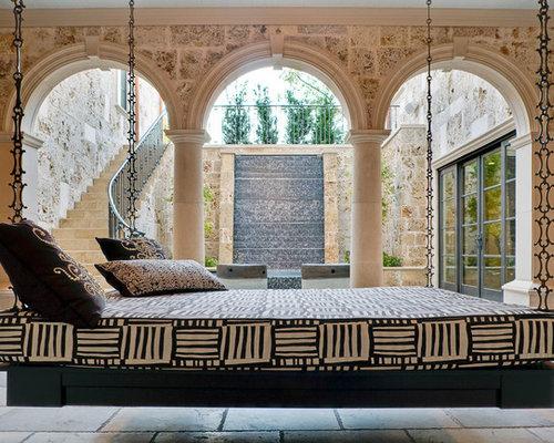 Tuscan Courtyard Patio Photo In Dallas