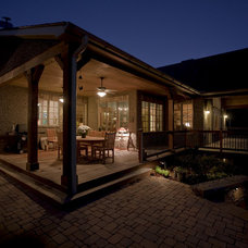Traditional Patio by ACM Design