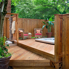 Traditional Patio by Archadeck of Charlotte