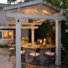 Traditional Patio by R Johnston Interiors