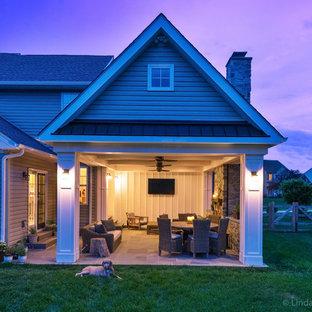 Idee per un patio o portico country