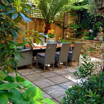 Outdoor Living Room, Presidio Heights, California