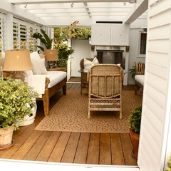 traditional patio by Shannon Malone