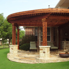 Traditional Patio by Green Meadows Landscaping