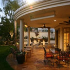 Tranquil Escapes Traditional Patio Chicago By