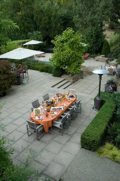 Modern Patio by Christopher Hoover - Environmental Design Services