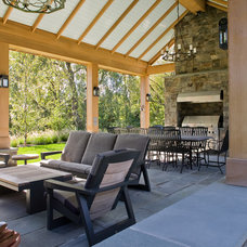 Contemporary Patio by MF Reynolds Inc