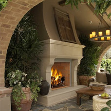 Mediterranean Patio by All About Interiors LLC